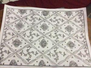 motif batik ceplok karya ku di seni ornamen batik 1