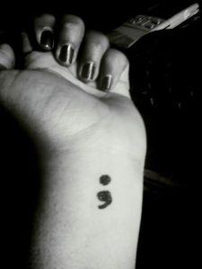 my semicolon